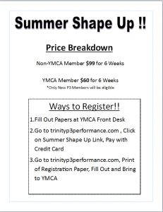 Summer Shape Pricing